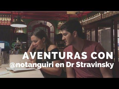 Descubrimos la coctelería Dr Stravinski del Born con @notanguiri