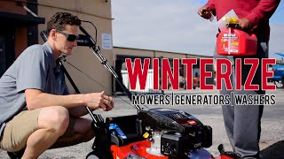 Winterizing, you're doing it all wrong! - MainStreetMower