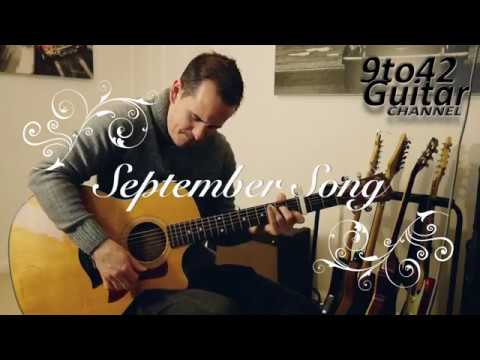 How to play September Song JP Cooper Guitar Lesson