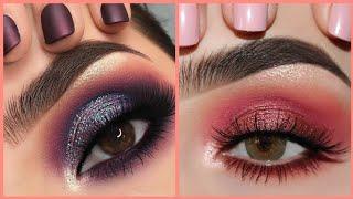 Os Melhores Tutoriais de Maquiagem Para os Olhos / Best Makeup Tutorial Compilation  2018 ♥