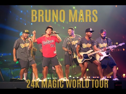 Bruno Mars: 24k Magic World Tour Recap | Oakland