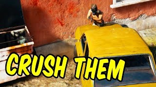 Crush Them! - PlayerUnknown's Battlegrounds Funny Moments & Epic Stuff (PUBG)
