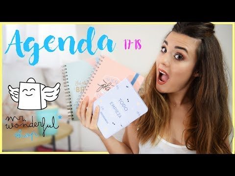 Agendas Mr.Wonderful 2017-2018 Review | MelBeYourself