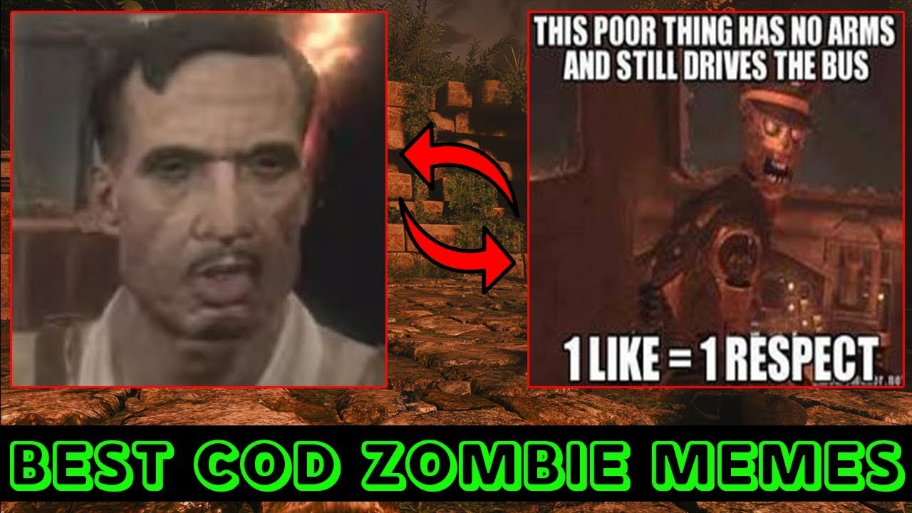 Call Of Duty Zombie Memes