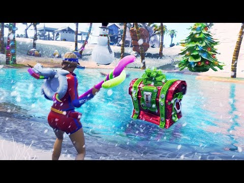 SNOW MAP coming to Fortnite