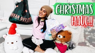 Christmas Shopping Haul! (cute stationery, urban outfitters) VLOGMAS DAY 4♡