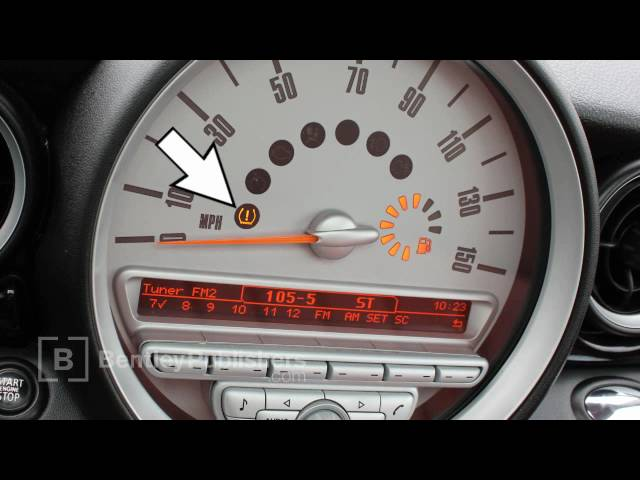 Mini Cooper Tire Pressure Monitor Reset How To R56 R55 R57 You Ferman Of Tampa Bay