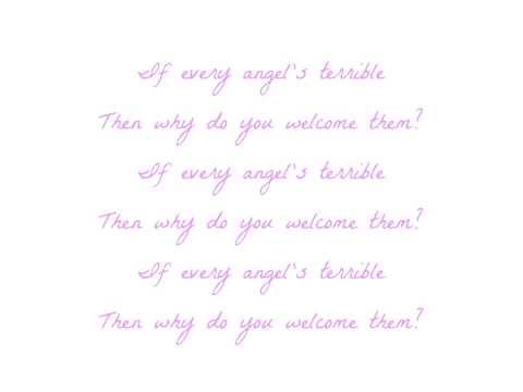 CocoRosie - Terrible Angels (Lyrics)
