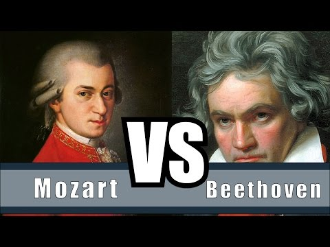 The Difference Between Mozart And Beethoven - Mozart Vs. Beethoven