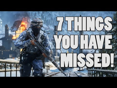 7 things you have missed in Battlefield 5 thumbnail