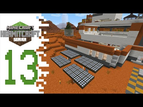 Hermitcraft (Minecraft) - EP13 - Solar Panels And Glass Case!