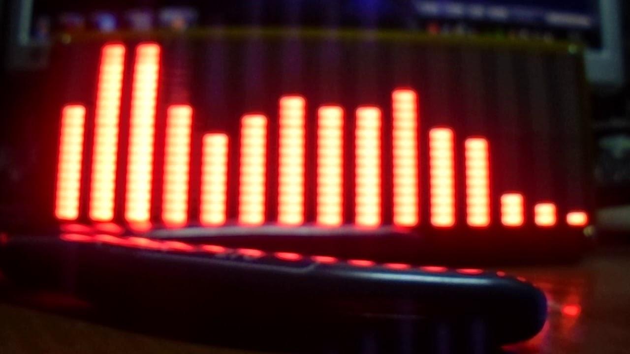 Анализатор спектра звуковых частот на Atmega_64