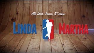 LINDA vs MARTHA | I love this dance all star game 2013