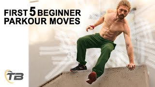 First 5 Beginner Parkour Moves - How To Get Started In Parkour - Ask The Tapps(Start your 5 Day Parkour Course here: http://learnmoreparkour.com/5-day-parkour-course-is-yt/ Download Your