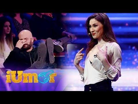 Alina Mihai, femeia de care se teme Bendeac, face glume picante la iUmor