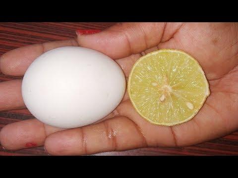 egg-white-&-lemon-face-pack-beauty-hacks-that-will-change-life-forever---natural-beauty-hacks