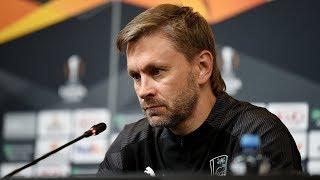 Пресс-конференция после матча «Краснодар» - «Хетафе»