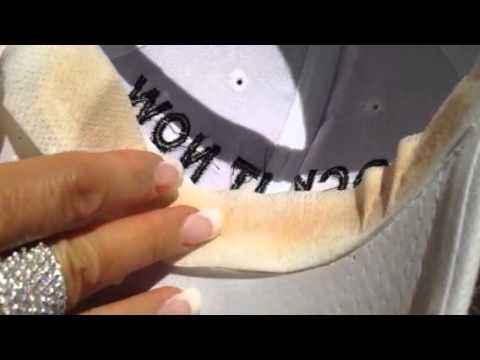 HOW TO PREVENT SWEAT STAINS ON MY BASEBALL CAP!!