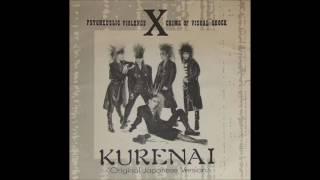 X (X Japan) - Kurenai (紅) [Original Japanese Version] (Rockin'f / ロッキンF)