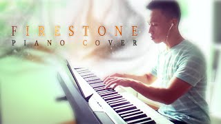 Kygo ft. Conrad Sewell - Firestone (piano cover by Ducci, lyrics)