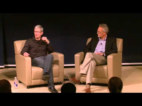 Apple CEO Tim Cook on Intuition