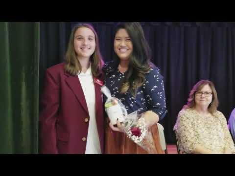 """Augustine """"Mrs. B"""" Bonifacio recognized at Cornelia Connelly School"""