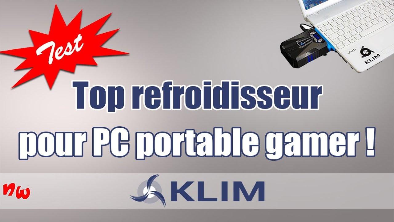 [Test] Top refroidisseur pour PC portable gamer ! | Klim cool