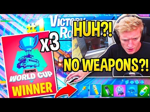 THIS PRO *SHOCKS EVERYONE* WINNING 3 GAMES *IN A ROW* With *NO WEAPONS* in Fortnite World Cup!