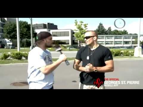 Un OVNI apparaît lors d'une interview du free fighter George St-Pierre
