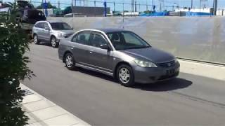 Видео-тест автомобиля Honda Civic Ferio (ES3-1400738, D17A, 2004г)
