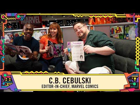 Marvel Comics Secrets with Editor-in-chief C.B. Cebulski at SDCC 2019