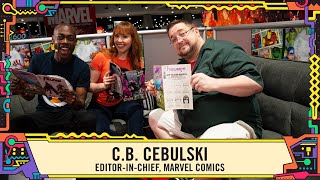 Marvel Comics Secrets with Editor-in-chief C.B. Cebulski at SDCC 2019