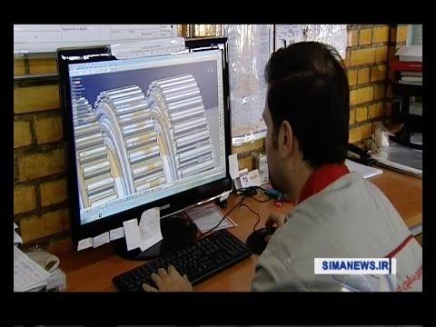 Iran made Turbo Compressor for Gas & Oil industries ساخت توربو كمپرسور براي صنايع نفت و گاز ايران