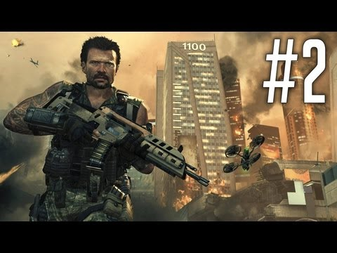 Woods is a ZOMBIE!?! - Black Ops 2 Walkthrough Part 2 [Mission 1: Pyrrhic Victory] - BO2
