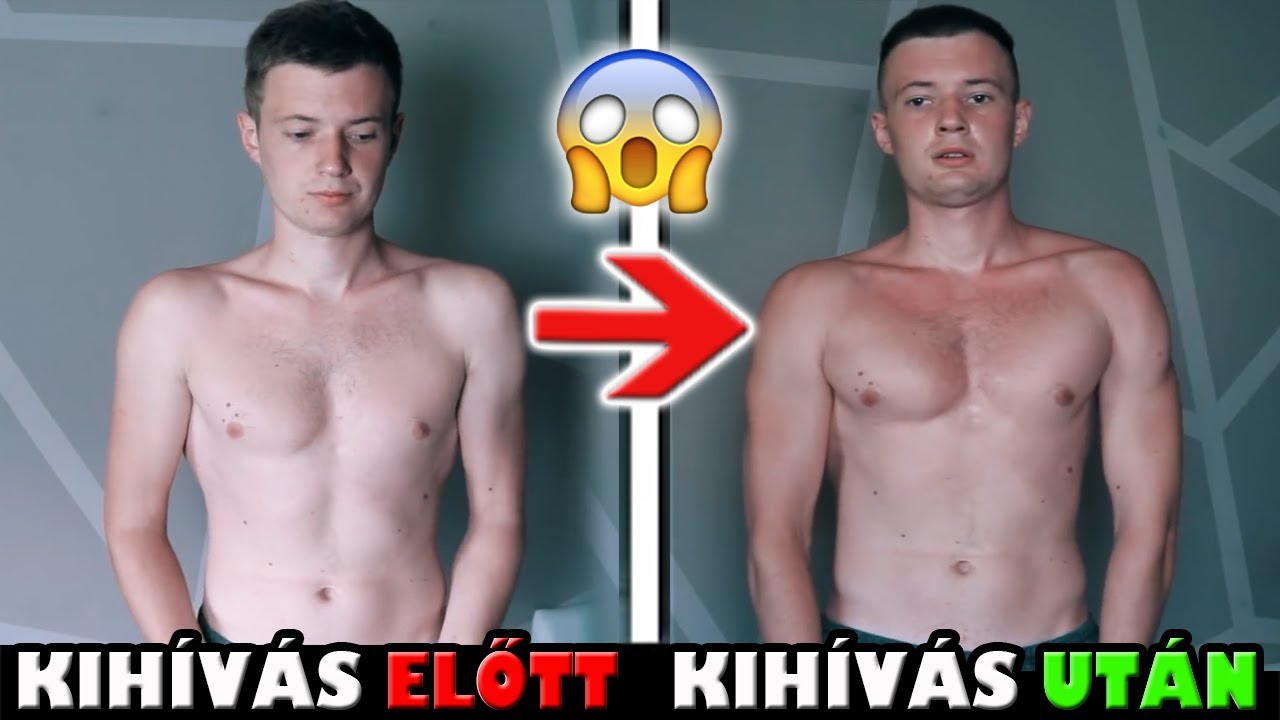 30 napos fogyás előtt és után