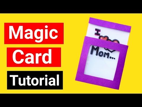 Magic Card Easy Tutorial | Mother's Day Card | Mother's Day Gift Ideas |