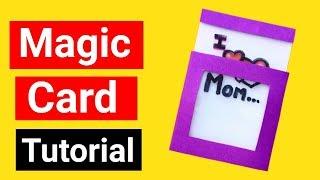 Magic Card Easy Tutorial | Friendship Day Card | Friendship Day Gift Ideas |