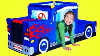 Jannie Monta y Juega Truck Play Tent Toy | Pretend Play