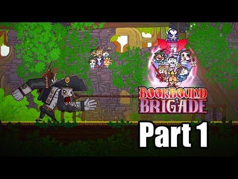 BOOKBOUND BRIGADE Gameplay Walkthrough Part 1 - No Commentary [PC]