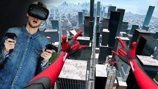 Spiderman-peli virtuaalisessa todellisuudessa?!   Spiderman Far From Home VR