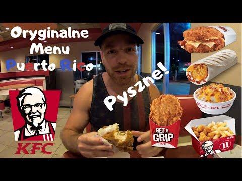 KFC: Oryginalne, ciekawe i smaczne menu w Puerto Rico!