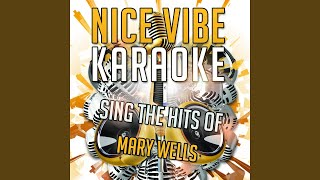You Beat Me to the Punch (Karaoke Version) (Originally Performed By Mary Wells)