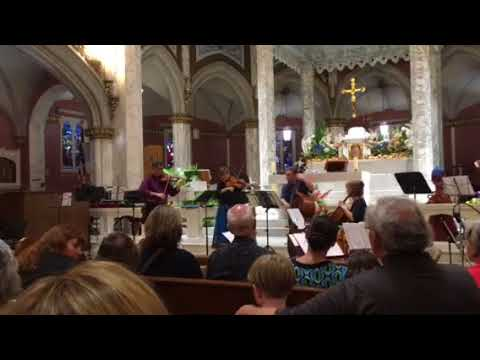 Bohemian Quartet performs at St. Mary's Church in Bristol