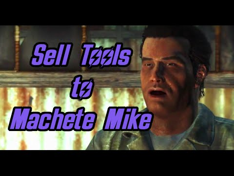 Fallout 4 Far Harbor - Sell tools to Machete Mike - Hull Breach Quest
