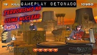 Nintendo Wii: Target Terror - Terrorismo na usina nuclear (Parte 1).