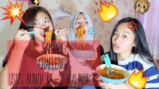 Samyang Challenge - USUS BUNTU UNTUK KEDUA KALINYAA!!?? || Sarah Balaw
