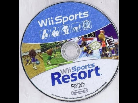 Wii Sports + Wii Sports Resort: 2 Games on 1 Disc Bundle Ver