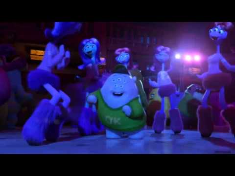 Monsters University  Baile de Squishy  Fiesta de los Roar 1080p HD