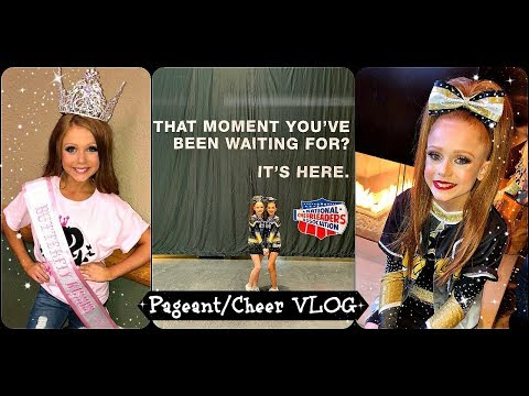 GLITZ PAGEANT + NCA VLOG   One Busy Weekend!!!