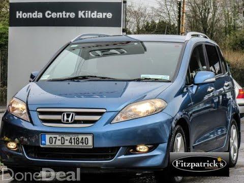 Honda frv se 2007 brian doolan youtube - Fitzpatricks garage kildare ...